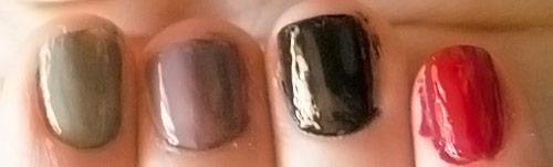 aufgetragenen nagellack haltbar machen